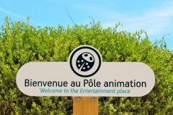 Pôle animation du camping interlude