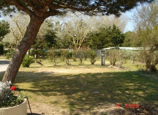 Emplacement libre au camping Interlude